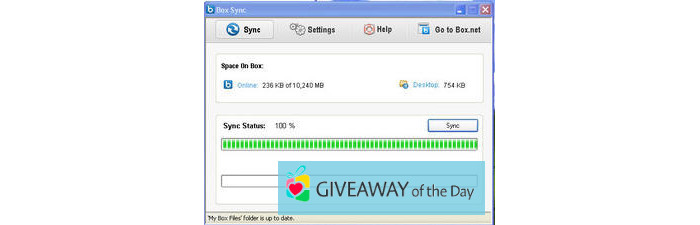Download Box Sync 2019 for Windows | Giveaway Download Basket