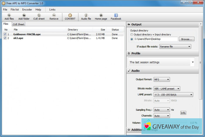 7 Best Free APE To MP3 Converter Software For Windows