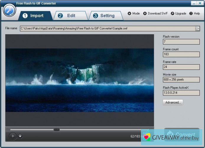 Download Free Flash to GIF Converter 2019 for Windows   Giveaway