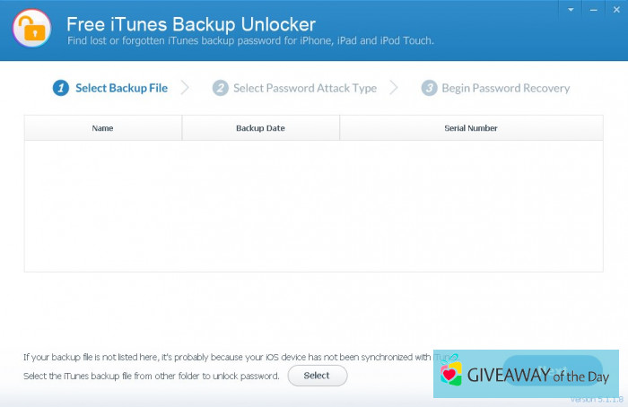 Download Free iTunes Backup Unlocker 2019 for Windows