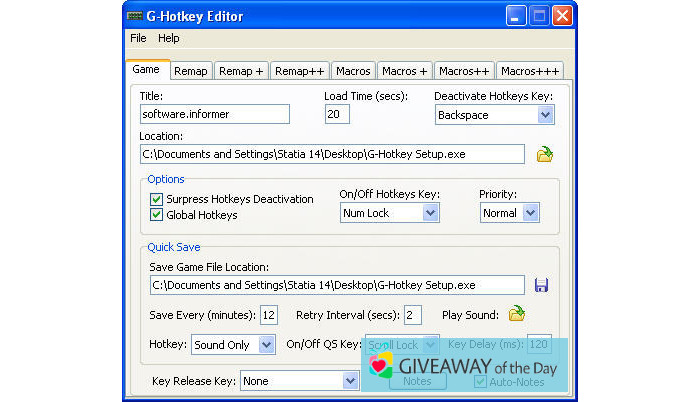 Download G-Hotkey 2019 for Windows   Giveaway Download Basket