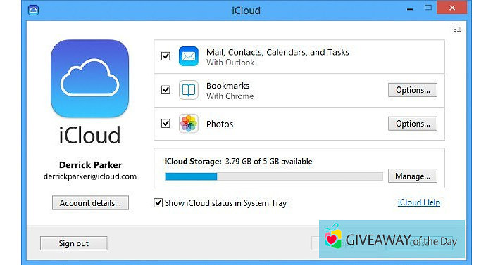 Download iCloud Control Panel 2019 for Windows | Giveaway Download