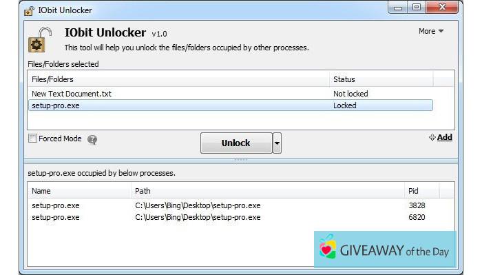 Download IObit Unlocker 2019 for Windows | Giveaway Download Basket