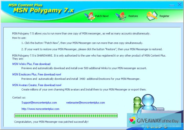 POLYGAMY 7.5 MSN TÉLÉCHARGER