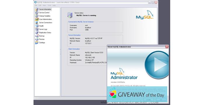 Download MySQL Administrator 2019 for Windows | Giveaway Download Basket