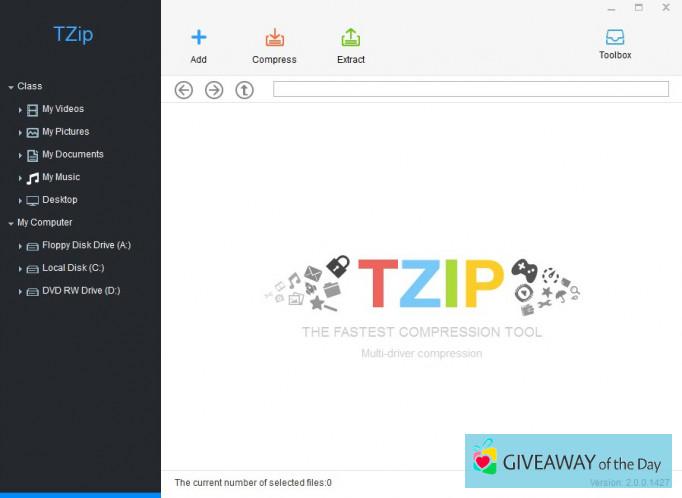 Download Tzip 2019 for Windows   Giveaway Download Basket