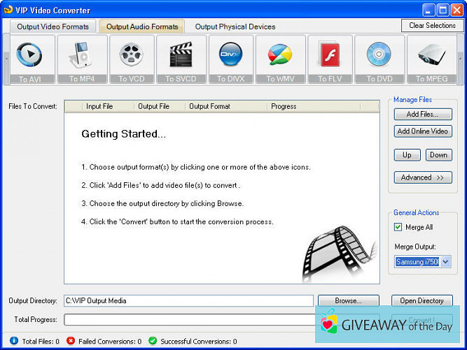 Download VIP Video Converter 2019 for Windows | Giveaway